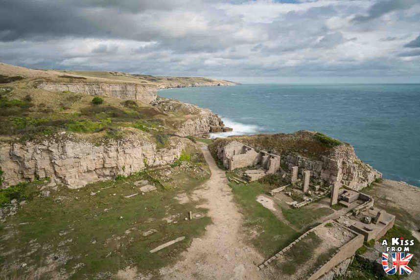 Winspit Mine - Que faire dans le Dorset en Angleterre ? Visiter les plus beaux endroits à voir dans le Dorset et la Jurassic Coast avec notre guide complet.