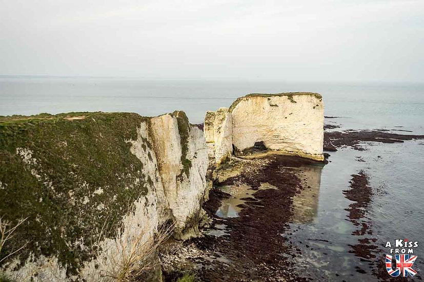 Old Harry Rocks - Que faire et que voir dans le Dorset en Angleterre ? Visiter les plus beaux endroits du Dorset avec notre guide complet sur cette région anglaise - A Kiss from UK, le blog du voyage en Angleterre.