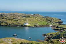 La côte est d'Harris, de Rodel à Tarbert - Visiter Lewis et Harris, le gide complet - A faire / A voir voir sur l'île de Lewis & Harris dans les Hébrides Extérieures en Ecosse. A Kiss from UK, guide & blog voyage Ecosse