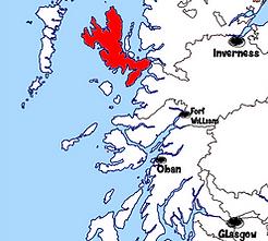 carte île de Skye - Que voir sur l'île de Skye en Ecosse ? Visiter l'île de Skye avec A Kiss from UK, le guide & blog du voyage en Ecosse, Angleterre et Pays de Galles.