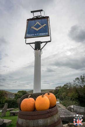 The Square and Compas à Worth Matravers - Que faire dans le Dorset en Angleterre ? Visiter les plus beaux endroits à voir dans le Dorset avec notre guide complet.