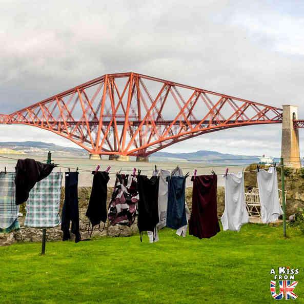 Forth Bridge - Que voir dans la Péninsule de Fife en Ecosse ? Visiter la péninsule de Fife avec A Kiss from UK, le blog du voyage en Ecosse, Angleterre et Pays de Galles.