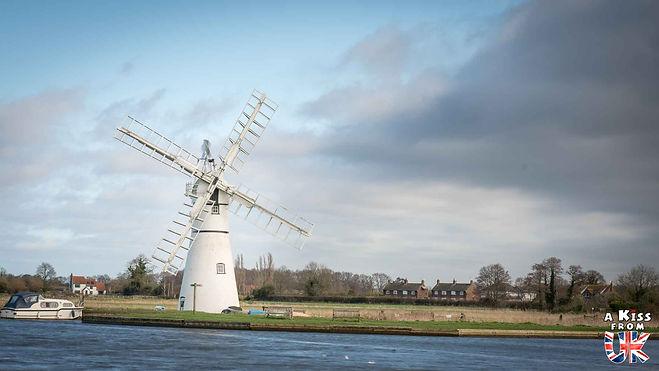 Thurne Mill - Visiter le Norfolk - Découvrez les plus beaux endroits à voir et les choses à faire dans le Norfolk - Visiter le Norfolk et le Parc National de The Broads en Angleterre.
