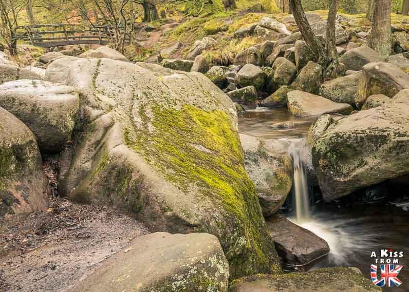 Padley Gorge - A faire et à voir absolument dans le Peak District en Angleterre. Visiter les plus beaux endroits du Peak District avec notre guide complet. A Kiss From UK, le blog du voyage en Angleterre.