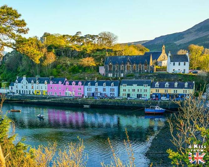 Portree – Visiter l'île de Skye en 4 Jours – Découvrez un itinéraire de road trip en Ecosse pour passer 4 jours sur l'île de Skye - A Kiss from UK le guide et  blog voyage Ecosse.