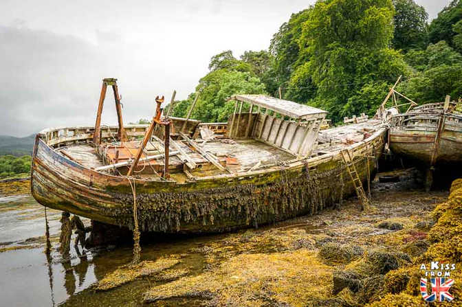 Mull - A voir et à faire sur les îles de Mull, Iona et Staffa en Ecosse ? Visiter Oban et les îles de Mull, Iona et Staffa A Kiss from UK, le blog du voyage en Ecosse.