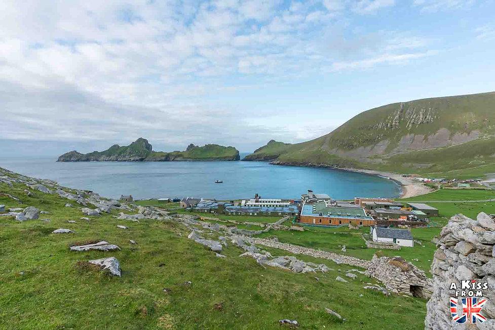 La base militaire de St Kilda - Visiter l'archipel de St Kilda en Ecosse - Que voir sur l'île de St Kilda en Ecosse ? - A Kiss from UK, guide et blog voyage sur l'Ecosse.