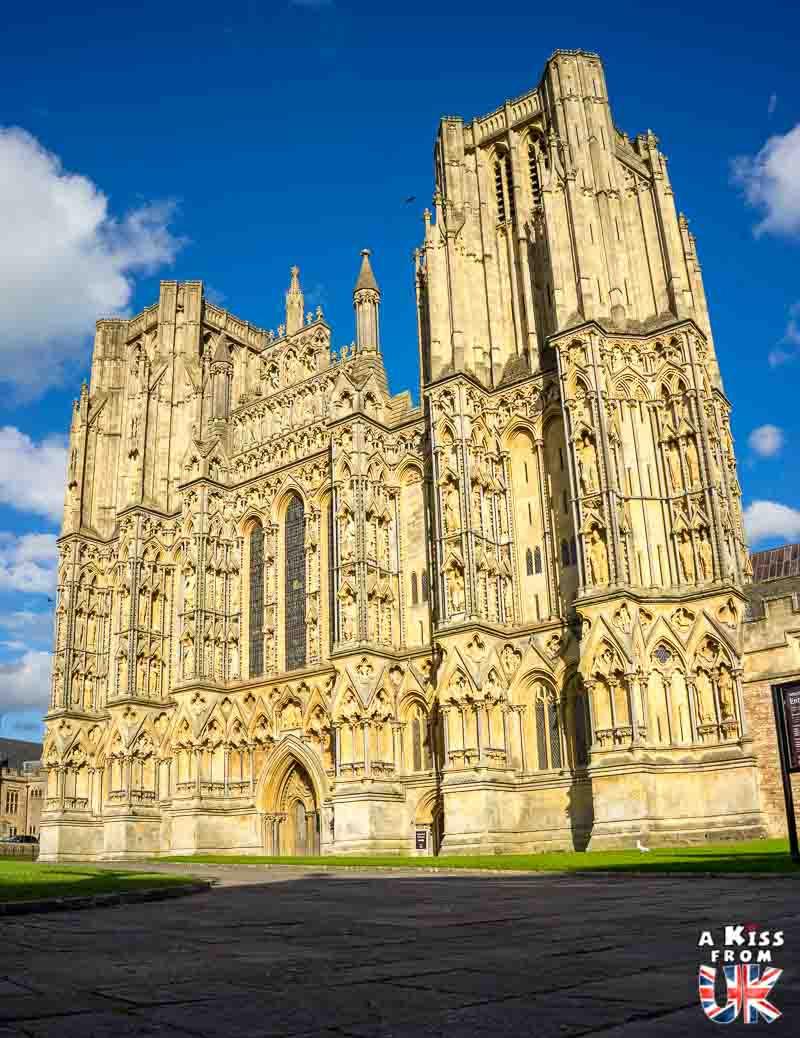 La cathédrale de Wells dans le Somerset - 30 photos qui vont vous donner envie de voyager en Angleterre après l'épidémie de coronavirus - Découvrez les plus belles destinations et les plus belles régions d'Angleterre à visiter.