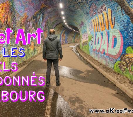 Street Art à Colinton Tunnel et Innocent Railway Tunnel, les tunnels abandonnés d'Édimbourg.