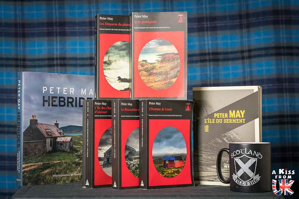 Les romans écossais de Peter May - Voyager en Ecosse à travers les livres de Peter May - Présentations et avis de lecture des romans de Peter May se déroulant en Ecosse et dans les Hébrides Extérieures. | A Kiss from UK