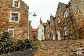 Crail - Que voir et que faire dans la Péninsule de Fife en Ecosse ? Visiter la péninsule de Fife avec A Kiss from UK, le guide et blog du voyage en Ecosse.