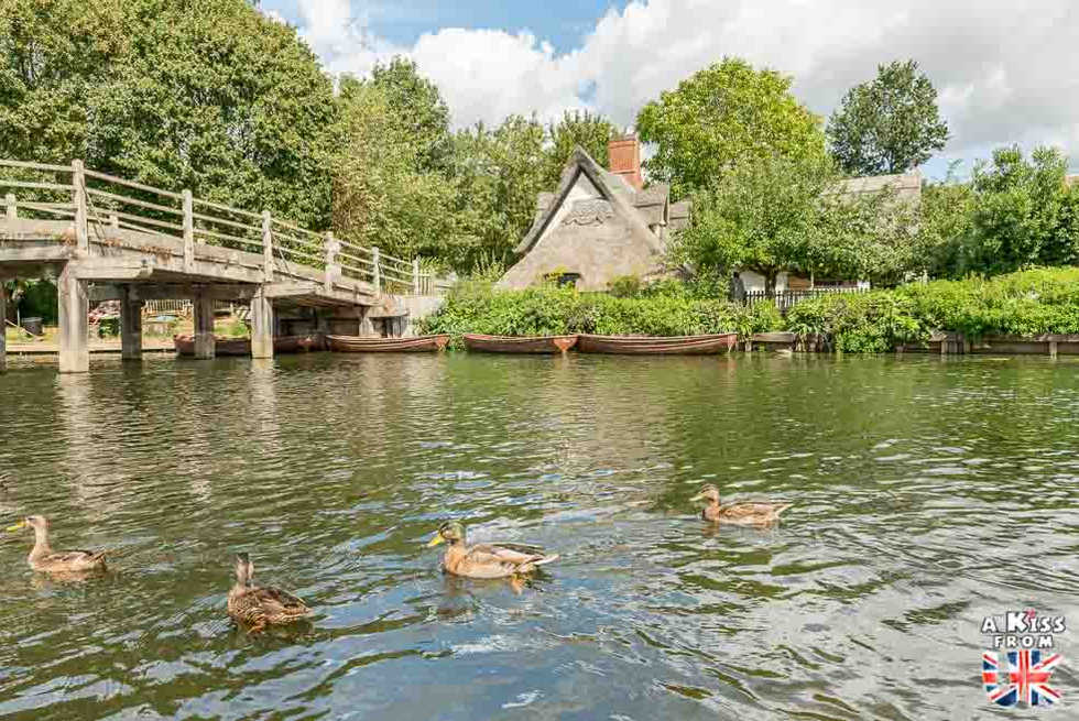 Flatford - Que voir dans le Suffolk en Angleterre ? Visiter le Suffolk avec A Kiss from UK, le guide et blog du voyage en Angleterre.