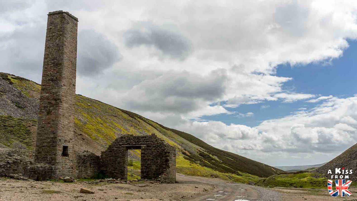 Old Gang Smelt Mill - Que voir dans les Yorkshire Dales en Angleterre ? Visiter les Yorkshire Dales avec A Kiss from UK, le guide et blog du voyage en Ecosse, Angleterre et Pays de Galles.