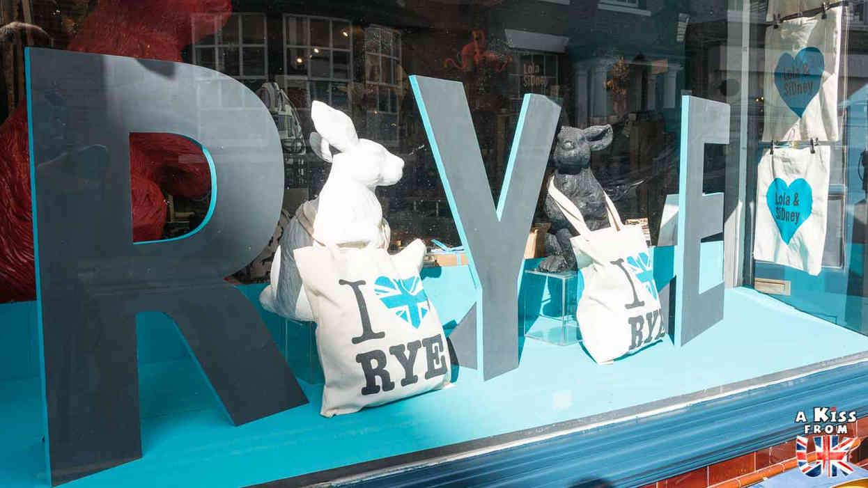 Rye - Que voir absolument dans le Sussex en Angleterre ? Visiter le Sussex  et ses plus beaux endroits avec A Kiss from UK, le guide et blog du voyage en Ecosse, Angleterre et Pays de Galles.