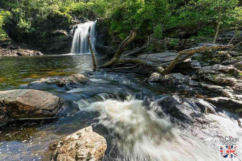 Falls of Falloch - A voir et à faire dans le Loch Lomond et les Trossachs en Ecosse. Visiter le Parc National du Loch Lomond et des Trossachs avec notre guide complet. A Kiss from UK, le blog du voyage en Ecosse.