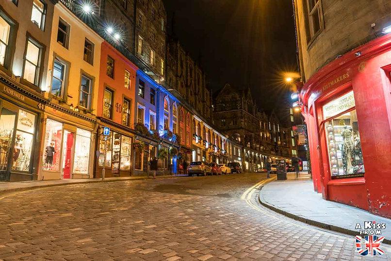 Edimbourg - 50 endroits à voir absolument en Ecosse – Découvrez les lieux incontournables en Ecosse et les plus beaux endroits d'Ecosse à visiter pendant votre voyage | A Kiss from UK