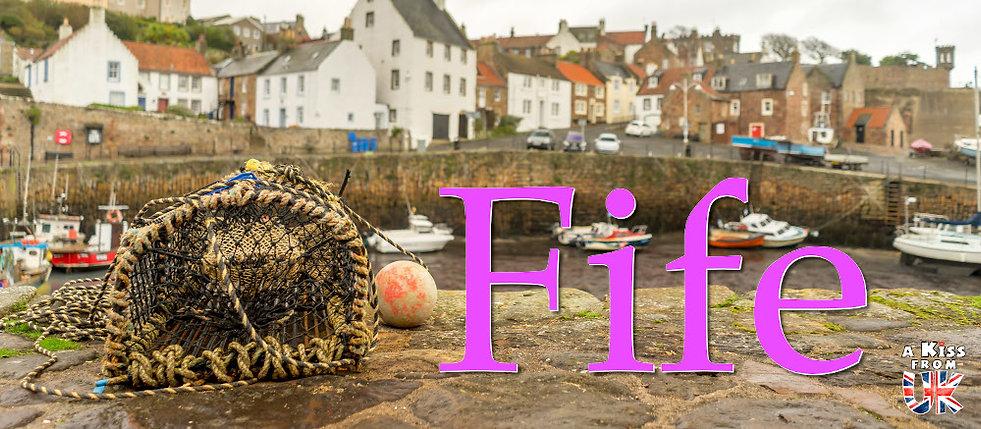 Que voir absolument dans la Péninsule de Fife en Ecosse ? Visiter la péninsule du East Neuk of Fife et ses plus beaux endroits avec A Kiss from UK, le blog du voyage en Ecosse.