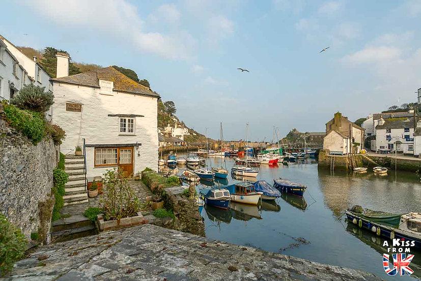 Polperro - Que voir et que faire dans les Cornouailles en Angleterre ? Visiter les Cornouailles et ses plus beaux endroits avec notre guide complet - A Kiss from UK, le blog du voyage en Agleterre.