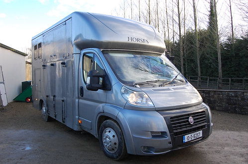 2010 180bhp 3L Fiat Ducato Horsebox for Sale