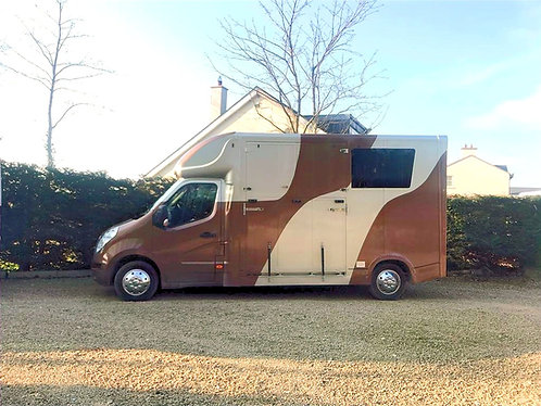 2014 Long Stall Two Horse Van
