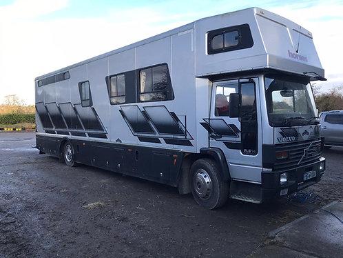 14 Ton - 1996 Whittaker Volvo FL14 4/5 horse truck