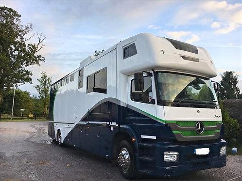 2019 Coachbuilt McGarry 6 horse truck