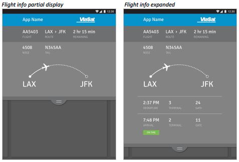 11. visual design flight status