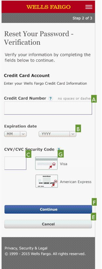 11. mobile PW change - verify CC info