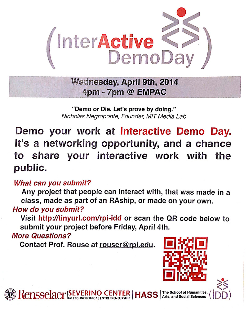 RPI Interactive Demo Day