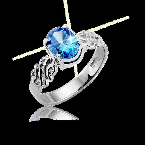 Emblem Legacy Ring Cobalt