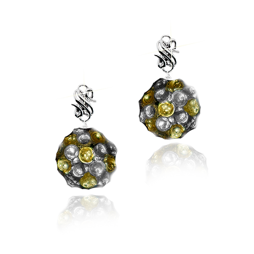 Honey Comb Earrings Limited for Bee2be