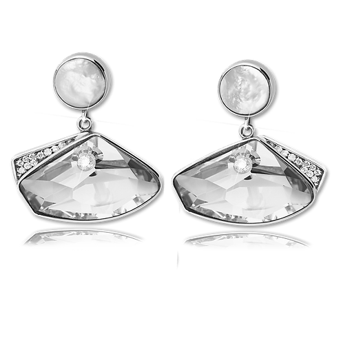 Elegance Earrings Silver