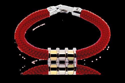 Pulsera Verricello Roja Con oro Edición Limitada