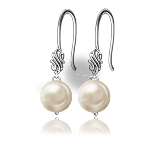 Gold Colori Pearls Earrings