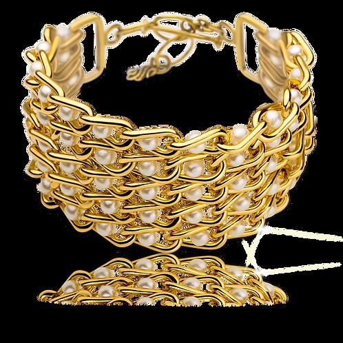 Captive Pearl Bracelet