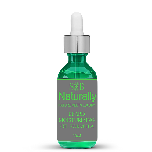 Beard Moisturizing Formula / Fórmula Hidratante para Barba