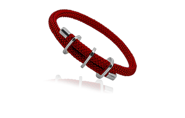 Windward Braclet Red and Silver.png