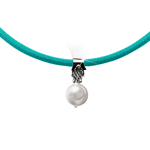 Turquoise Colori Pearl Necklace