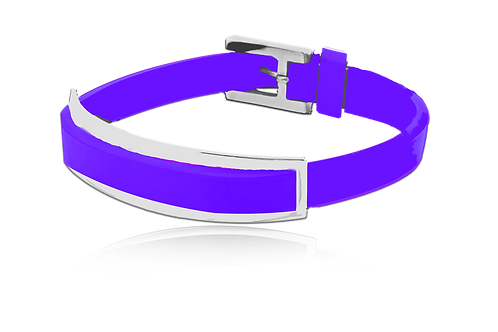 Pulsera Centurión Purple