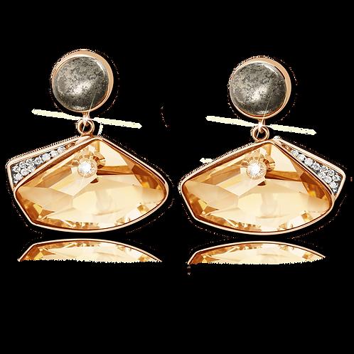 Elegance Earrings Gold