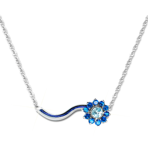 Starry Night Necklace Topaz
