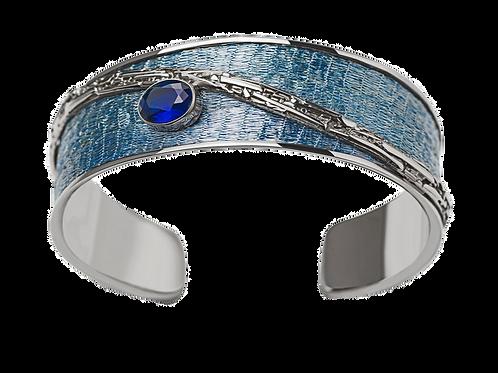 Bracelet Nouveau Blue Topaz
