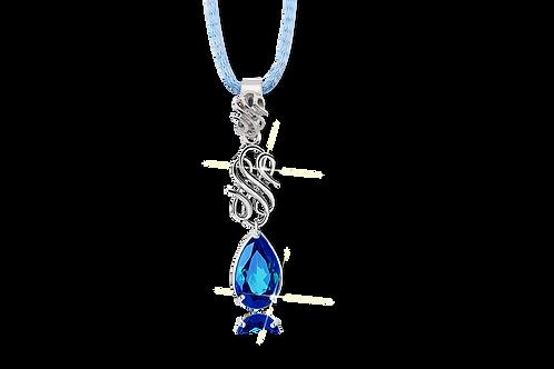 Emblem Legacy Necklace Drop Blue