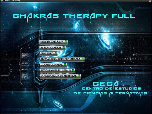 CHAKRAS THERAPY FULL y Gemoterapia