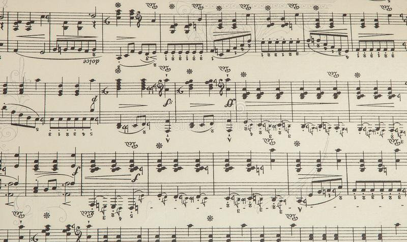 old-musical-sheet-notes-background-music