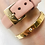 Thumbnail: Chanel bangle gold and nude