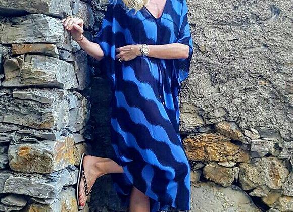 Michael kors kurta blue and night preowner perfect condition size s
