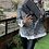 Thumbnail: Chanel 255 maxi jumbo blue sequins