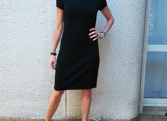 Chanel black dress 42italy