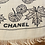 Thumbnail: Chanel scarf black and white with letters chanel